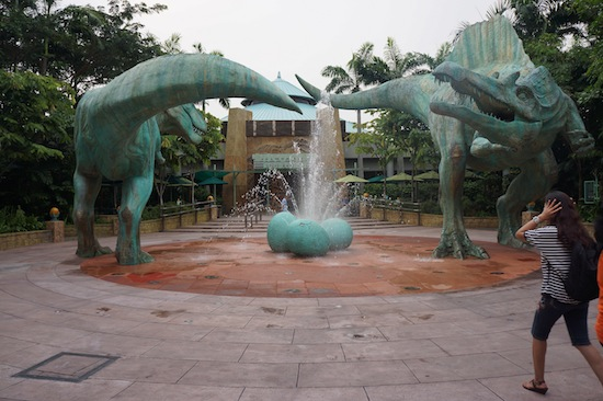 Jurassic Park in Universal Studio