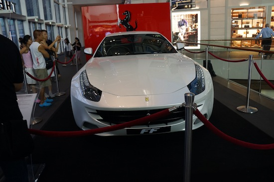 Ferrari at The Shoppes at Marina Bay Sands