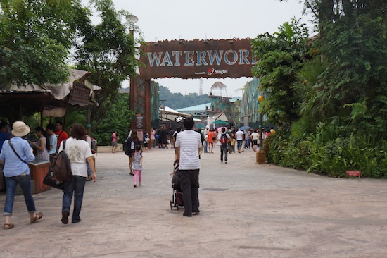Water World in Universal Studio