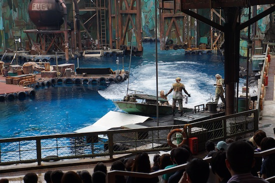 Water World in Universal Studio Singapore