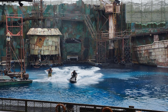 Waterworld in Universal Studio