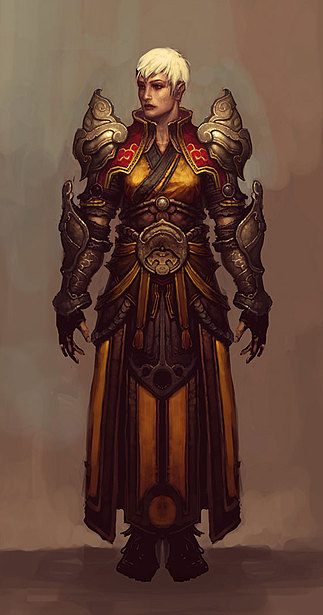 Female Monk in Diablo 3
