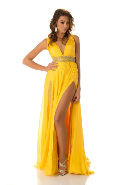 Adrola Dushi - Miss Albania Gown