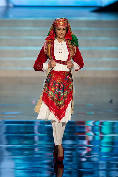 Miss Albania 2012 Adrola Dushi2 Miss Universe 2012 National Costume (89 Contestants)