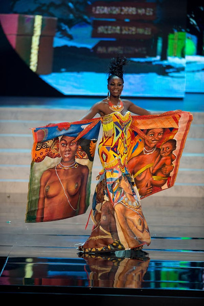 Miss Angola 2012 Marcelina Vahekeni2 Miss Universe 2012 National Costume (89 Contestants)