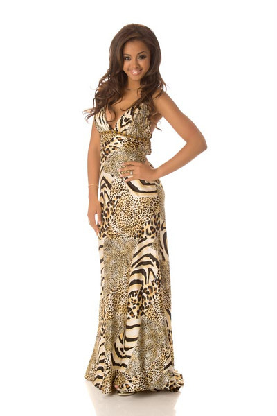 Laura Beyne - Miss Belgium Gown