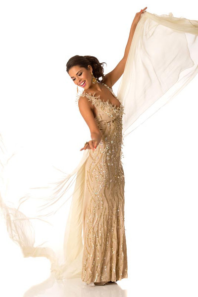 Yessica Mouton – Miss Bolivia Gown