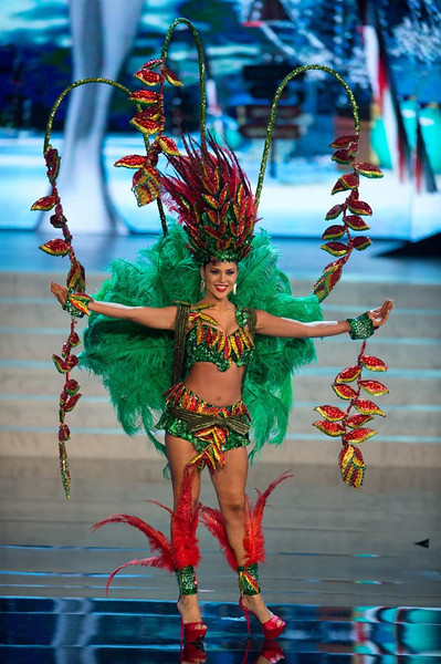 Miss Bolivia 2012 Yessica Mouton2 Miss Universe 2012 National Costume (89 Contestants)