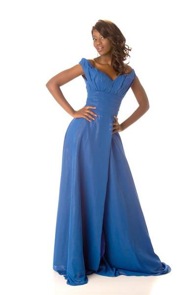 Sheillah Molelekwa - Miss Botswana Gown