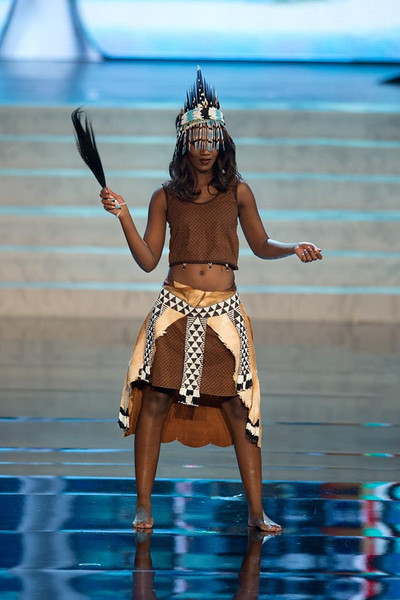 Miss Botswana 2012 Sheillah Molelekwa2 Miss Universe 2012 National Costume (89 Contestants)