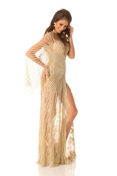Gabriela Markus - Miss Brazil Gown
