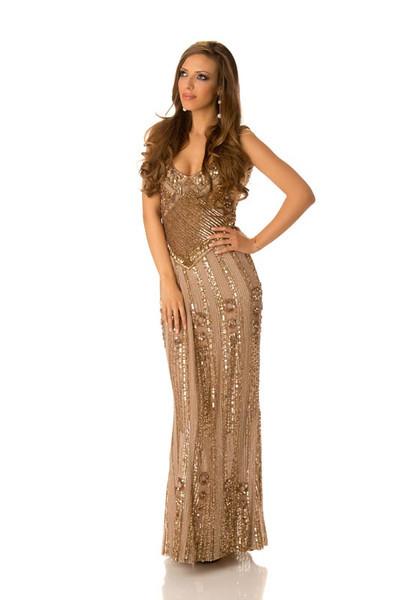 Zhana Yaneva – Miss Bulgaria Gown