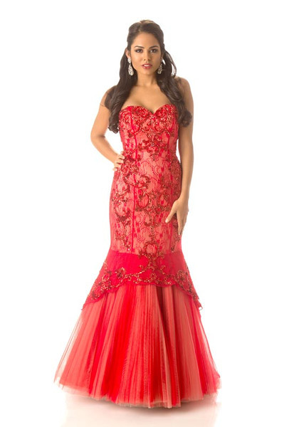 Linsday Japal – Miss Cayman Islands Gown
