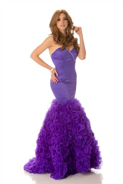 Carolina Andrea Aguirre Pérez – Miss Ecuador Gown