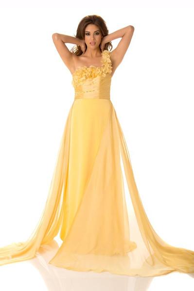 Ana Yancy Clavel – Miss El Salvador Gown