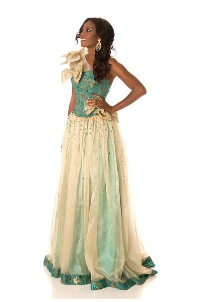 Channa Divouvi – Miss Gabon Gown