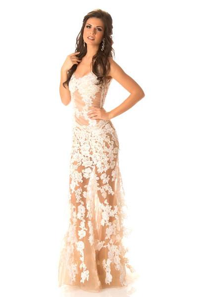 Vasiliki Tsirogianni – Miss Greece Gown