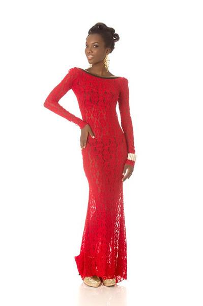 Ruqayyah Boyer – Miss Guyana Gown