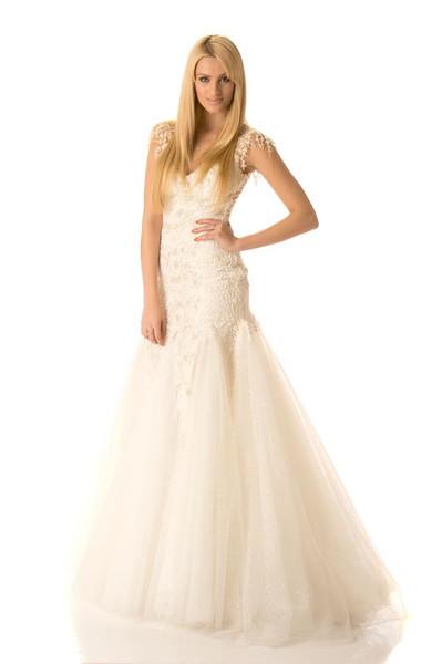 Adrienne Murphy -Miss Ireland Gown