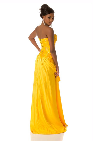 Tsakana Nkandih – Miss Namibia Gown