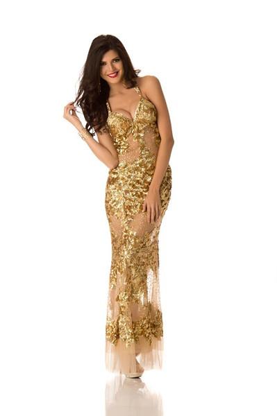 Nicole Faveron – Miss Peru Gown