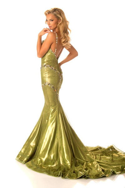 Melinda Bam – Miss South Africa Gown
