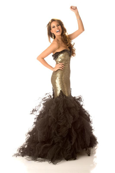 Andrea Huisgen – Miss Spain Gown