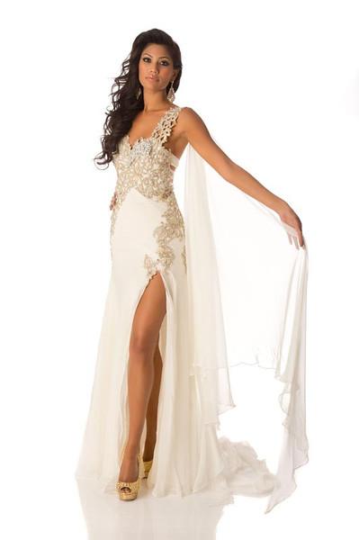 Sabrina Herft – Miss Sri Lanka Gown