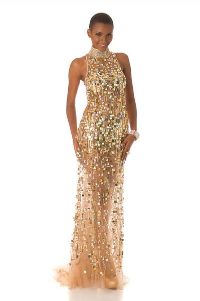 Winfrida Dominic – Miss Tanzania Gown