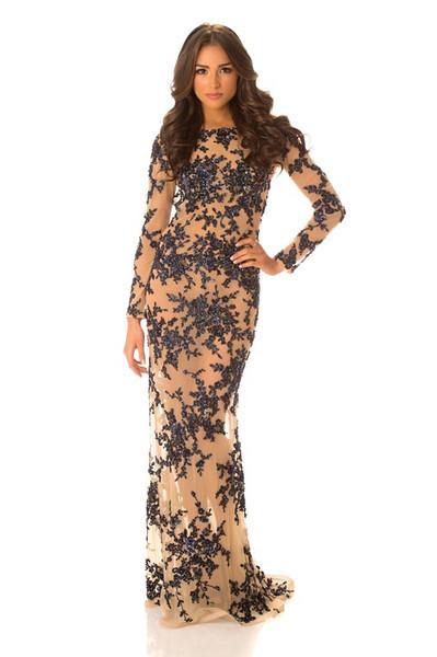 Olivia Culpo – Miss USA Gown