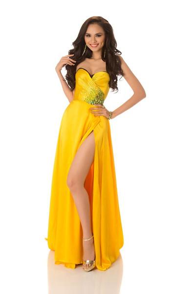 Diem Huong Luu – Miss Vietnam Gown