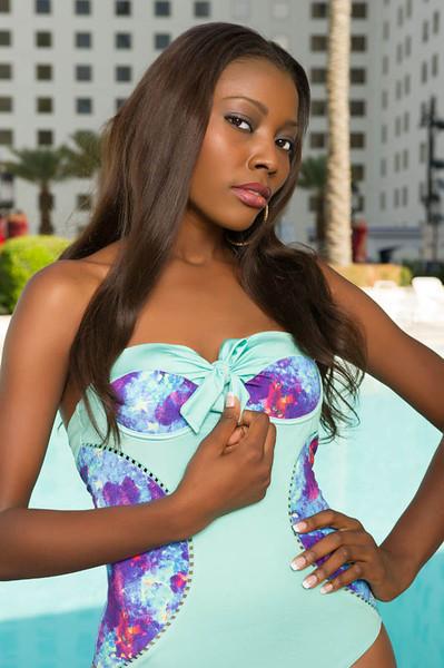 Gifty Ofori - Miss Ghana in Bikini