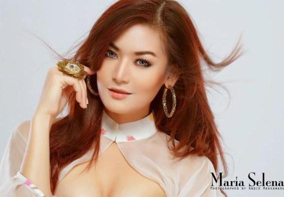 Maria Selena - Beautiful Woman who Represent Indonesia in ...