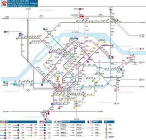 nanjing metro map plan