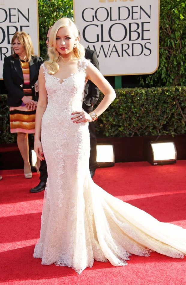 Francesca_Eastwood_in_Golden_Globe_2013