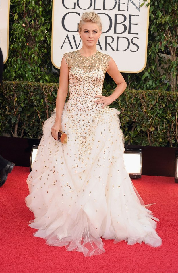 Julianne Hough in Golden Globe 2013 Golden Globe Awards 2013 Celebrities Dress Photos