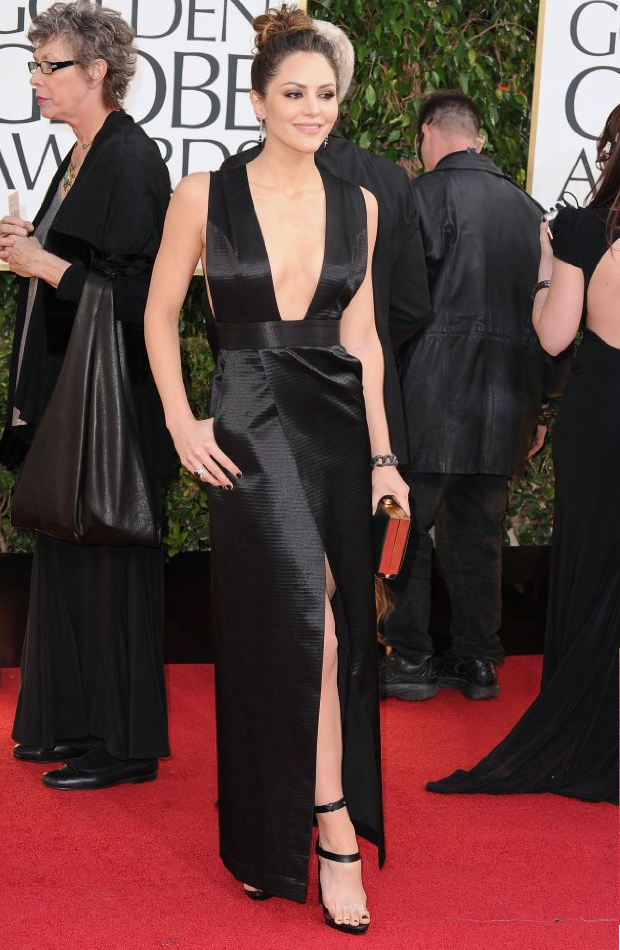 Katharine McPhee in Golden Globe 2013 Golden Globe Awards 2013 Celebrities Dress Photos