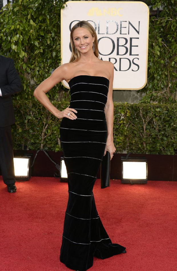 Stacy_Keibler_Whiteley_in_Golden_Globe_2013