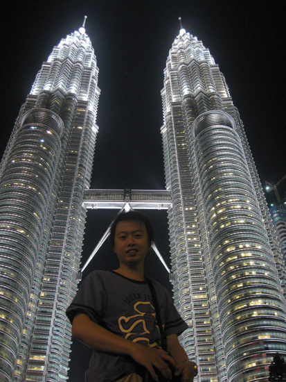me at petronas tower