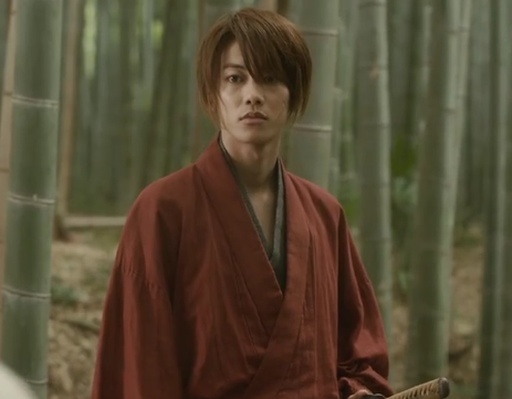 takeru sato as kenshin himura Rurouni Kenshin Characters (Anime vs Live Action Version)