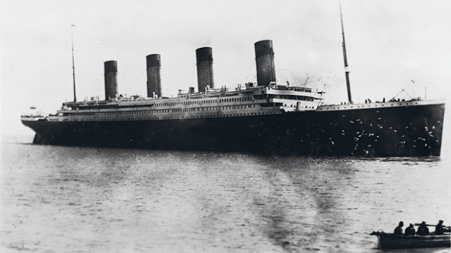 LAST PHOTO OF TITANIC BY FR B AT COBH Pic of The Titanic (Titanic Real Photos)