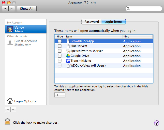 Login Item 6 Amazing Tips To Optimize Your Mac OS X