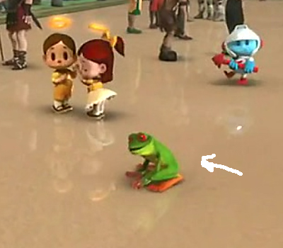 frogger in wreck in ralph