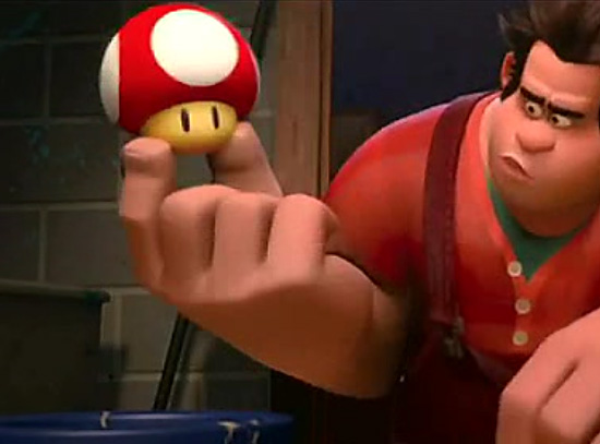 mushroom in wreck it ralph