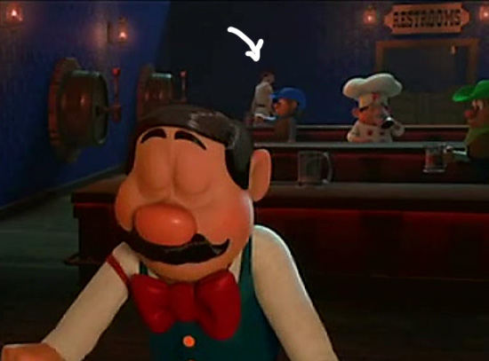 ryu in wreck it ralph 02 Video Game Characters Cameo Appearance in Wreck It Ralph