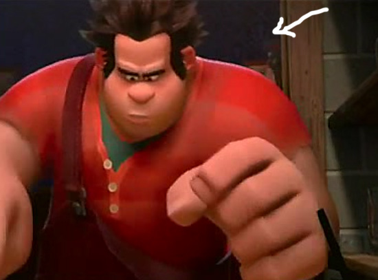 ryu in wreck it ralph 03 Video Game Characters Cameo Appearance in Wreck It Ralph