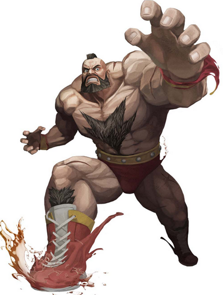 zangief Video Game Characters Cameo Appearance in Wreck It Ralph