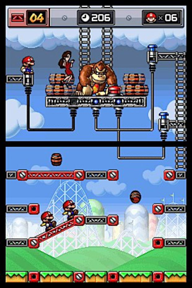Mario vs Donkey Kong Mini Land Mayhem
