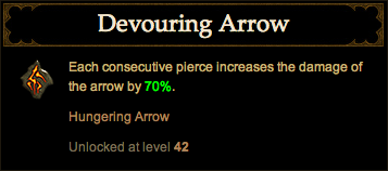 Devouring Arrow