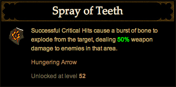 Spray of Teeth